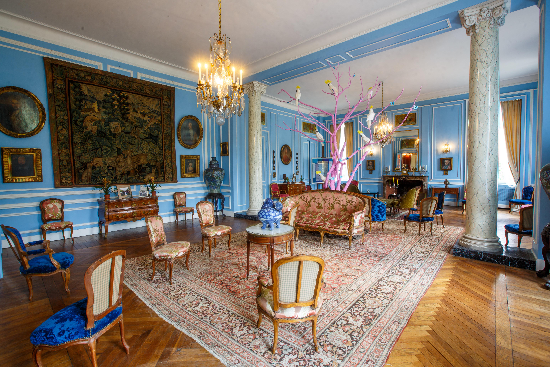 Salon bleu 1 ©Stéphane Thévenin
